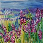 *Springtime Series* Fields of Lavender 12x12