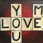 you me love- Lunch Date & Paint!