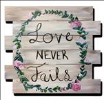 Love Never Fails Pallet *Ages 10 and Up