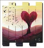 Growing Love | Pallet or Canvas