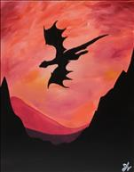 *for the kids* Dragon Sunset