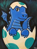 Kid's Stencil Day Special - Baby Dragon - $10 Off