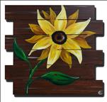 Rustic Sunflower Pallet!