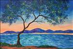 LARGE CANVAS - Antibes by Monet