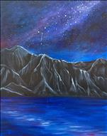 *NEW HAWAII ART* 'ol Na Pali Galaxy