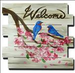 Bluebird Welcome Pallet