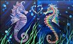 Seahorses in Love - Couple's Set or Single
