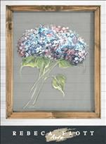 RFA Screen Art! Gramma Paty's Hydrangeas