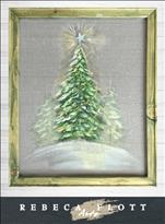 Rebeca Flott Arts - Christmas Tree on Screen