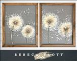 Rebeca Flott Arts - Dandelion Couples Set