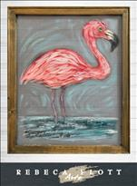 Rebeca Flott Arts - Flamingo in Florida