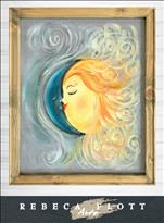 Rebecca Flott Arts - The Moon and Sun ($10 off)