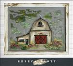 *Discount Tuesday $10 off* Farm Barn Screen Art