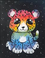 CHARLIE THE RAINBOW CHEETAH (all ages/no alcohol)