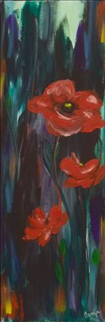 Passionate Poppies 10x30