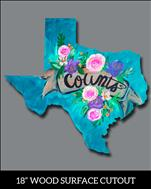 Customize Your Texas Vintage Cutout TEENS AND UP