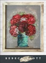 *MANIC MONDAY* Screen Art Flower Jars $10 OFF