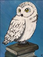 Scholarly Owl- HP Trivia and Paint