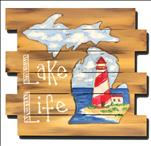OPEN CLASS ~ Lake Life Wood Pallet (18+)