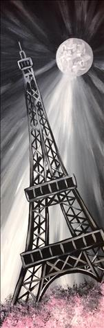 **10x30 LONG CANVAS!** La Tour Eiffel
