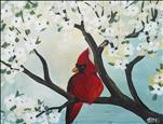 Cardinal and Dogwood (Adults 18+)