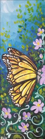 Share the Nectar - 10 x 30 CANVAS