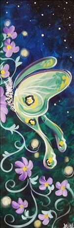 "Luna Love 10x30"" Canvas"