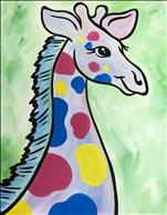 Pastel Baby Giraffe - Customize the colors!