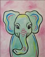 Family Fun: Pastel Baby Elephant (7+)