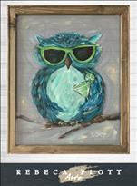 Rebeca Flott Arts - Owl Always Love Summer
