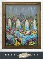 Rebeca Flott Arts - Dreamy Picket Fence