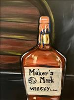 Paint @ The Social at Midtown! Maker's Mark