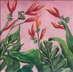 Lilies on Pink
