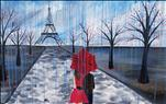 April Showers with You in Paris. Couples or Single