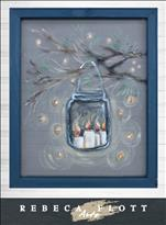 Rebecca Flott Art - Twinkly Night ($10 off)