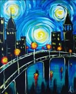 Starry Night Over the Walking Bridge!
