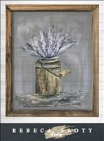 Rebeca Flott Arts - Keep Calm and Carry Lavender