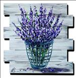 *Wood Pallet* Lavendar Love