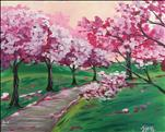 COFFEE & CANVAS: Cherry Blossom Path