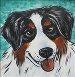 Paint Your Pet Dog - 12x12 - NEW SIZE!