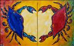 Crab Lovers-Your Choice OR Paint with a Partner!