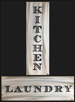 Kitchen and Laundry Set (Choose Your Sign)
