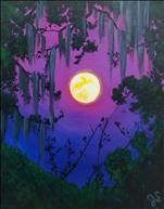 Moonlit Spanish Moss