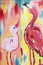 *Mom & Me - All Ages* Fabulous Flamingos