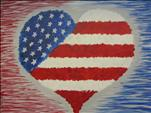 Patriotic Heart - FAMILY FRIENDLY