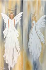 10x30 ~ Rustic Angel ~ Choose Right OR Left Angel