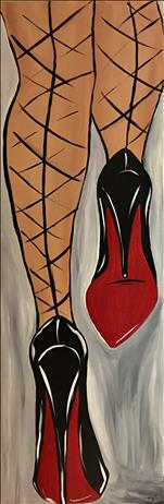 BEST OF 2018 - 10 x 30 CANVAS - Red Bottoms