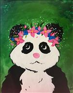 Panda Flower Crown - ALL AGES WELCOME!