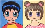 Cartoon Selfie - Manga Me Set **Kids Class**