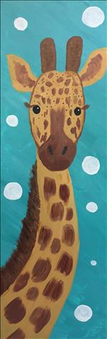 "Tall Giraffe (10""x30"") - Ages 10 and Up"